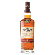THE GLENLIVET ARCHIVE 21 YEARS OLD SCOTCH WHISKY