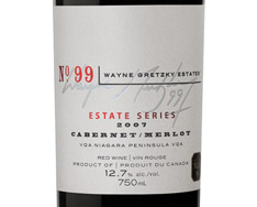 WAYNE GRETZKY NO. 99 ESTATE SERIES CABERNET/MERLOT 2007