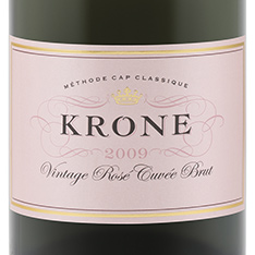 KRONE CUV�E M�THODE CAP CLASSIQUE BRUT ROS� SPARKLING 2017