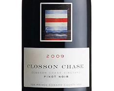 CLOSSON CHASE CLOSSON CHASE VINEYARD PINOT NOIR 2016