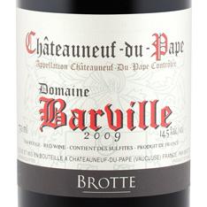 BROTTE DOMAINE BARVILLE CH�TEAUNEUF-DU-PAPE 2016