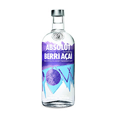 ABSOLUT BERRI ACAI VODKA