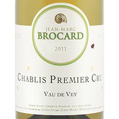 JEAN-MARC BROCARD VAU DE VAY CHABLIS 1ER CRU 2015