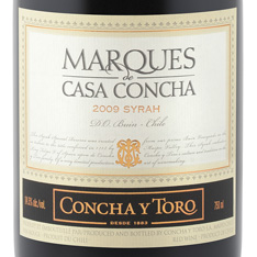 CONCHA Y TORO MARQU�S DE CASA CONCHA SYRAH 2016
