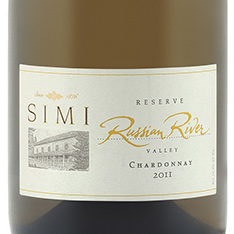 SIMI RUSSIAN RIVER VALLEY RESERVE CHARDONNAY 2014