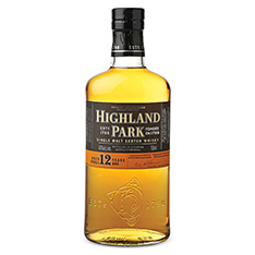 HIGHLAND PARK 12 YEARS OLD SINGLE MALT SCOTCH WHISKY