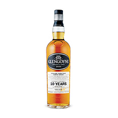 GLENGOYNE 10 YEARS OLD SINGLE HIGHLAND MALT SCOTCH WHISKY
