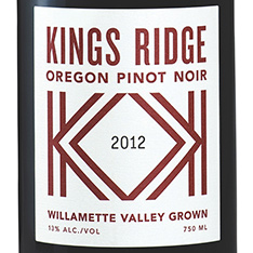 KINGS RIDGE PINOT NOIR 2015