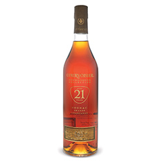 COURVOISIER 21 YEARS OLD