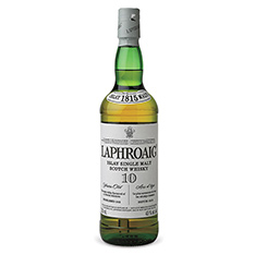 LAPHROAIG 10 YEARS OLD ISLAY SINGLE MALT