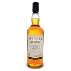 TALISKER 10 YEARS OLD SINGLE MALT SCOTCH WHISKY