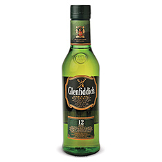 GLENFIDDICH SINGLE MALT 12 YEARS OLD SCOTCH WHISKY