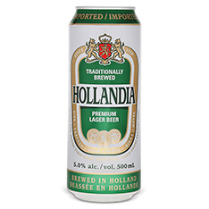 HOLLANDIA LAGER BEER