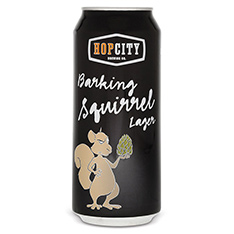 HOP CITY BARKING SQUIRREL LAGER
