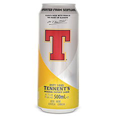 TENNENT'S EXPORT LAGER
