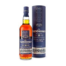 GLENDRONACH 18 YEARS OLD ALLARDICE HIGHLAND SINGLE MALT SCOTCH WHISKY