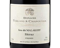 DOMAINE TERLATO & CHAPOUTIER LIEU DIT MALAKOFF SHIRAZ 2011