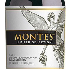 MONTES LIMITED SELECTION CABERNET SAUVIGNON/CARMEN�RE