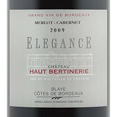 CHÂTEAU HAUT-BERTINERIE ELEGANCE MERLOT/CABERNET 2015
