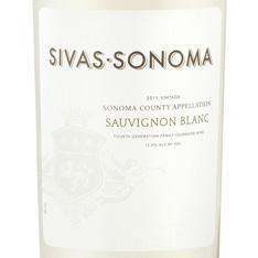 SIVAS-SONOMA SAUVIGNON BLANC 2015