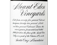MOUNT EDEN VINEYARDS CABERNET SAUVIGNON 2013
