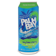 PALM BAY KEY LIME CHERRY TALL CAN