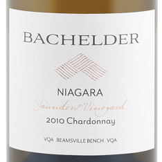 BACHELDER SAUNDERS VINEYARD CHARDONNAY 2015