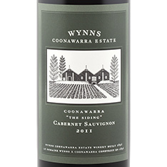 WYNNS COONAWARRA ESTATE THE SIDING CABERNET SAUVIGNON