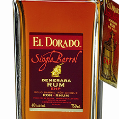 EL DORADO SINGLE BARREL EHP DEMERARA RUM