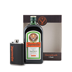 JAGERMEISTER GIFT PACK WITH FLASK