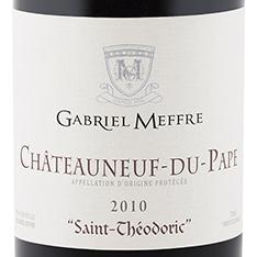 GABRIEL MEFFRE SAINT-THÉODORIC CHÂTEAUNEUF-DU-PAPE 2016