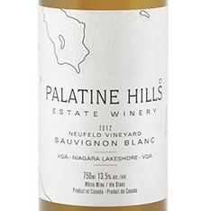 PALATINE HILLS NEUFELD VINEYARD SAUVIGNON BLANC 2015