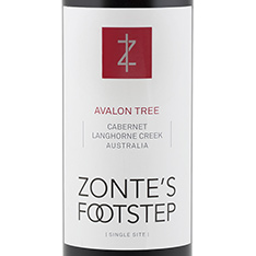 ZONTE'S FOOTSTEP BLACKBERRY PATCH CABERNET SAUVIGNON 2018