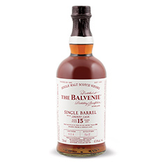THE BALVENIE 15 YEARS OLD SINGLE BARREL SPEYSIDE SINGLE MALT