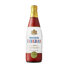 MOLSON CANADIAN VICTORY BOTTLE