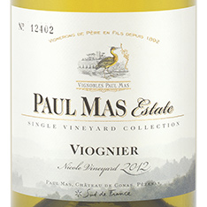 PAUL MAS SINGLE VINEYARD COLLECTION RESERVE VIOGNIER 2018