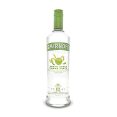 SMIRNOFF GREEN APPLE FLAVOURED VODKA