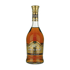 ARARAT ARMENIAN BRANDY 5 YEARS OLD