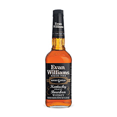 EVAN WILLIAMS BLACK LABEL BOURBON WHISKEY