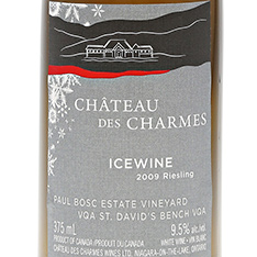CH�TEAU DES CHARMES RIESLING ICEWINE 2014