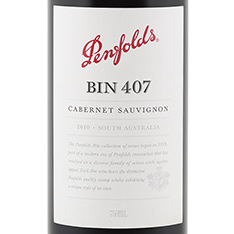 PENFOLDS BIN 407 CABERNET SAUVIGNON 2016