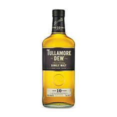 TULLAMORE DEW 10 YO SINGLE MALT IRISH WHISKEY