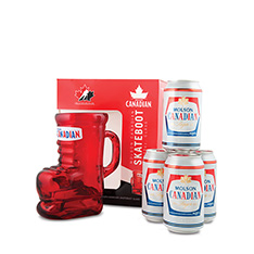 MOLSON CANADIAN SKATE BOOT GIFT PACK