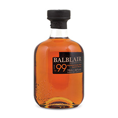 BALBLAIR 1999 HIGHLAND SINGLE MALT SCOTCH WHISKY