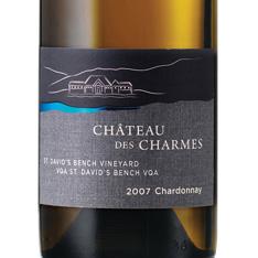 CHÂTEAU DES CHARMES ST. DAVID'S BENCH VINEYARD CHARDONNAY 2015