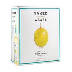 NAKED GRAPE PINOT GRIGIO BAG IN BOX
