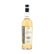GLENCADAM HIGHLAND SINGLE MALT SCOTCH WHISKY 10YO
