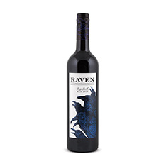 RAVEN DEEP DARK RED VQA