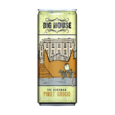 BIG HOUSE THE BIRDMAN PINOT GRIGIO CAN
