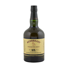 REDBREAST 15YO IRISH WHISKEY
